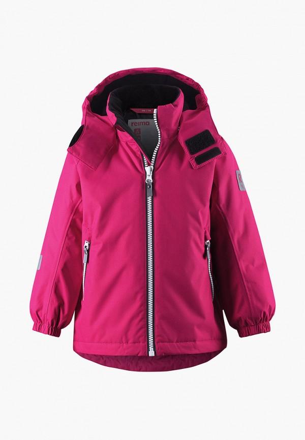 куртка reima для девочки, розовая