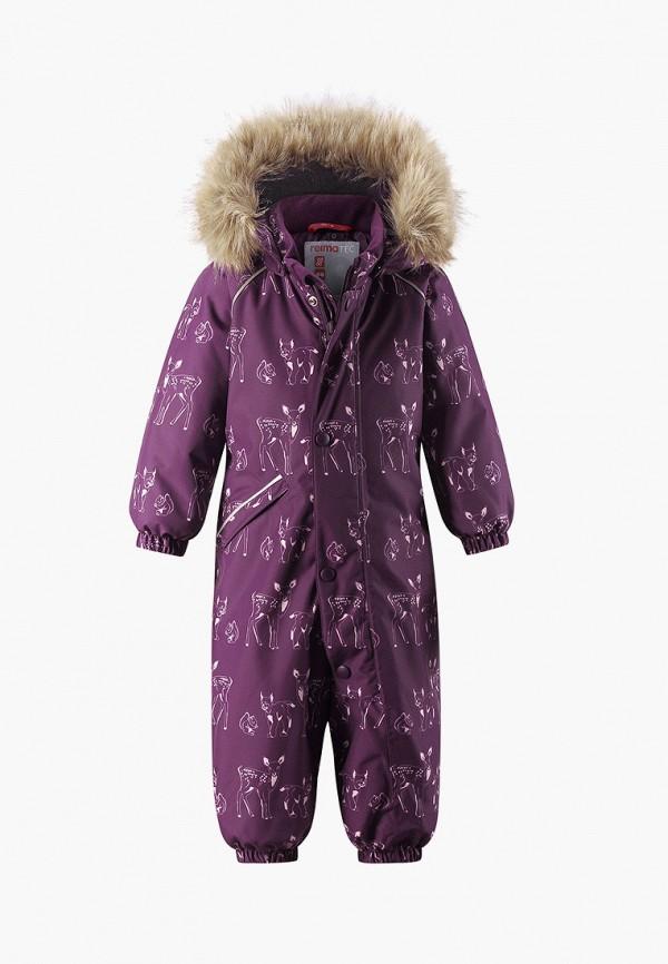 комбинезоны и костюмы reima для девочки, фиолетовые