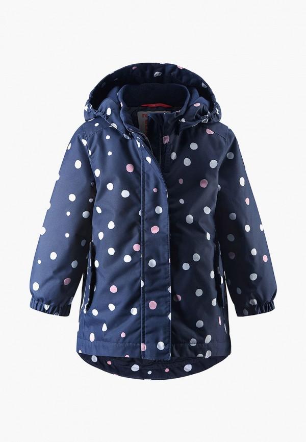 куртка reima для девочки, синяя