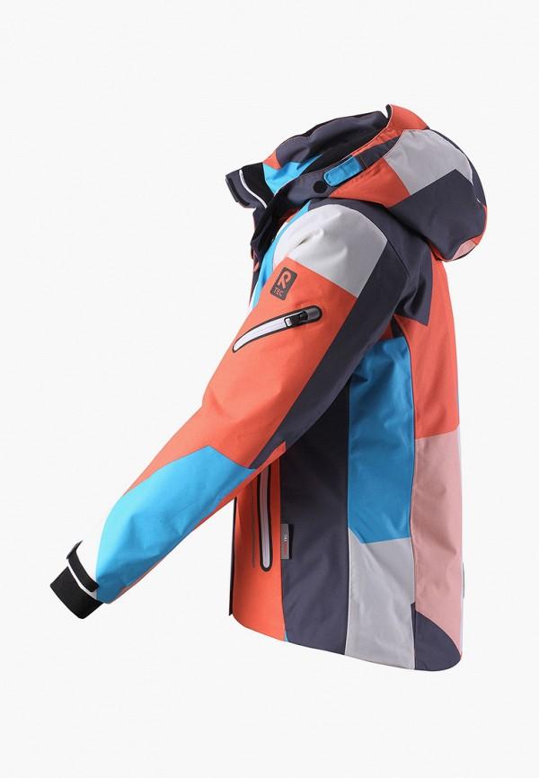 Фото 3 - Куртку горнолыжная Reima разноцветного цвета
