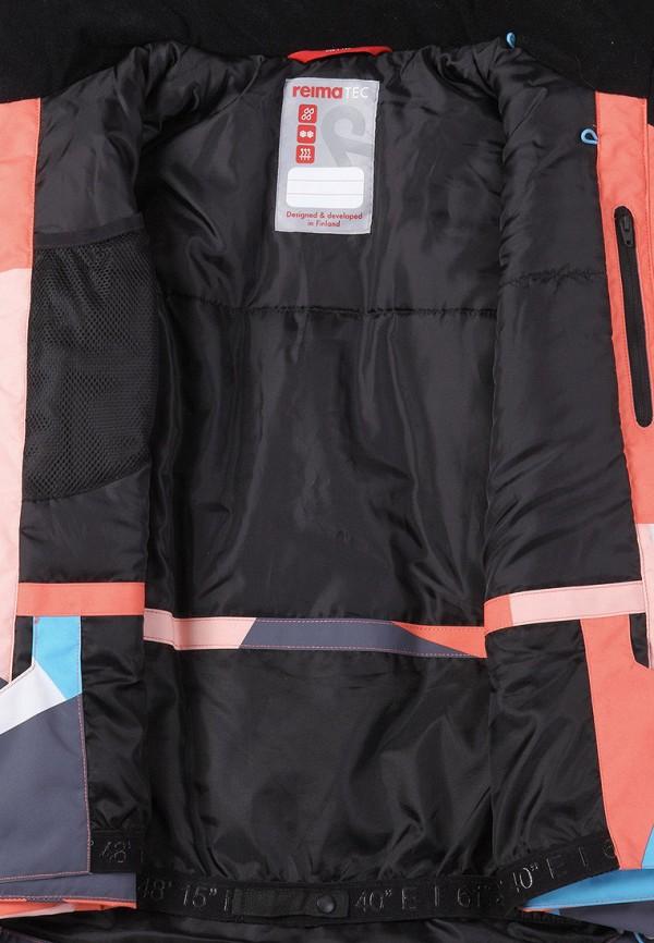 Фото 5 - Куртку горнолыжная Reima разноцветного цвета