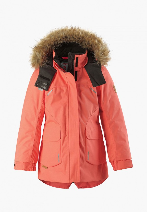 Фото - Куртку утепленная Reima кораллового цвета
