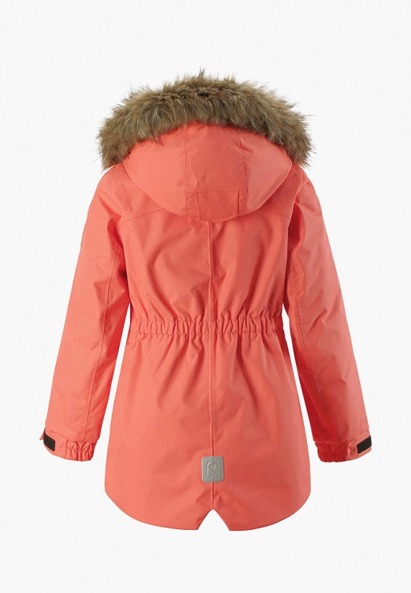 Фото 2 - Куртку утепленная Reima кораллового цвета