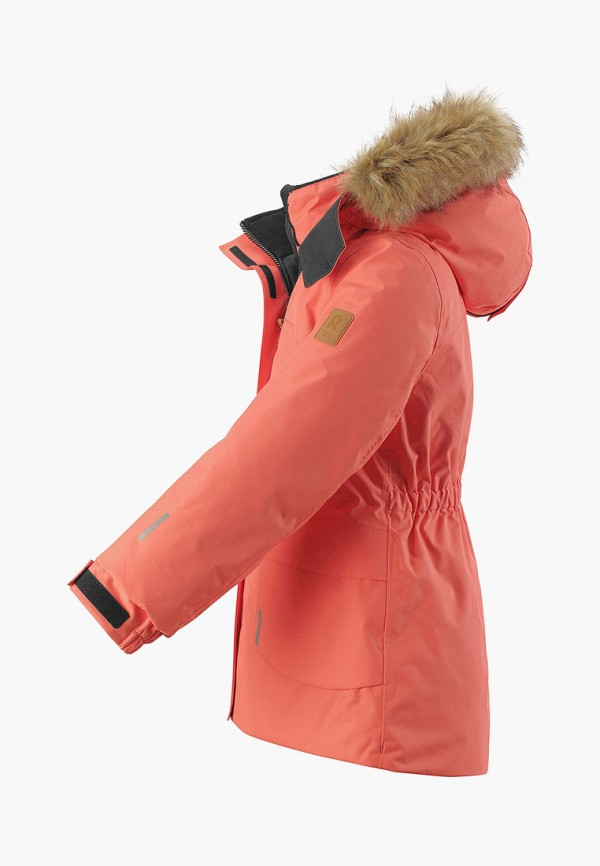 Фото 3 - Куртку утепленная Reima кораллового цвета