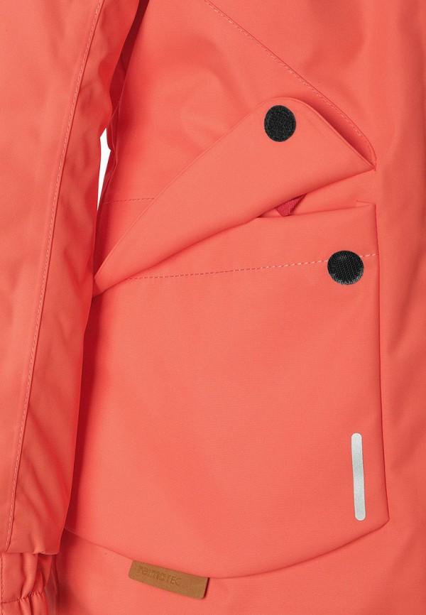 Фото 5 - Куртку утепленная Reima кораллового цвета