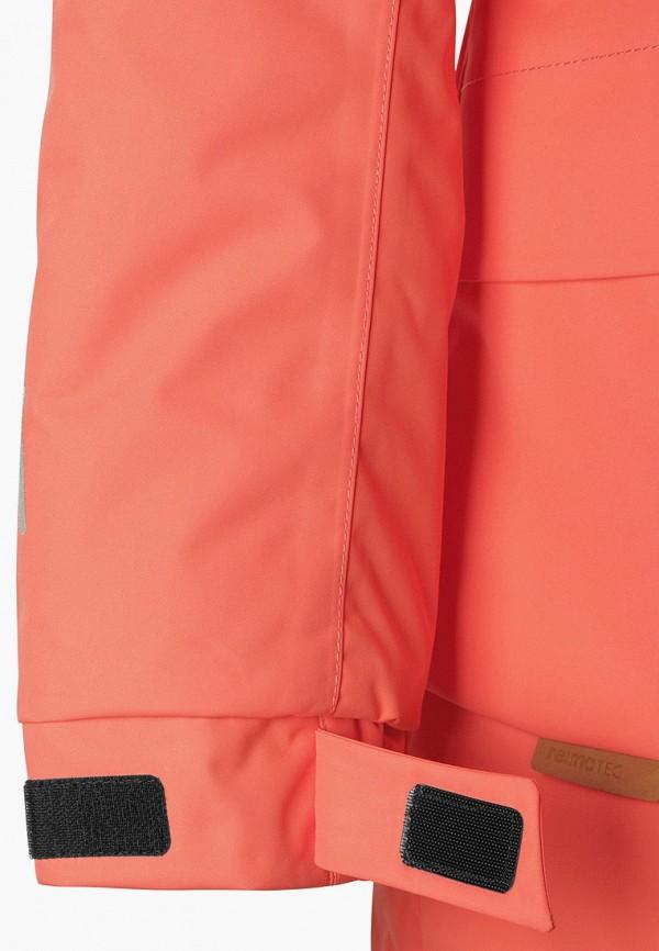 Фото 6 - Куртку утепленная Reima кораллового цвета