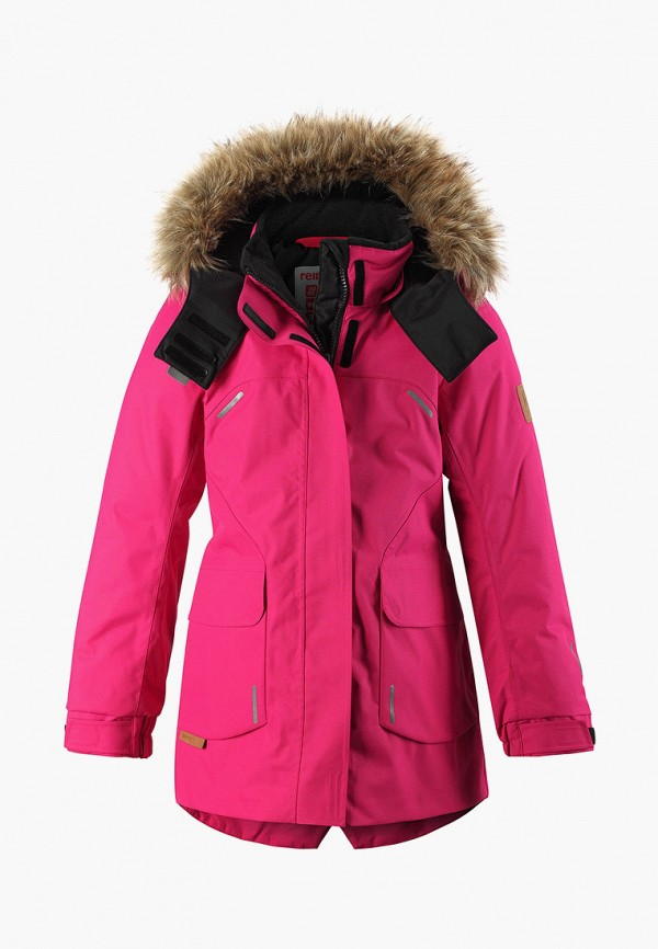 Фото - Куртку утепленная Reima розового цвета