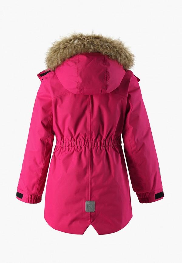 Фото 2 - Куртку утепленная Reima розового цвета