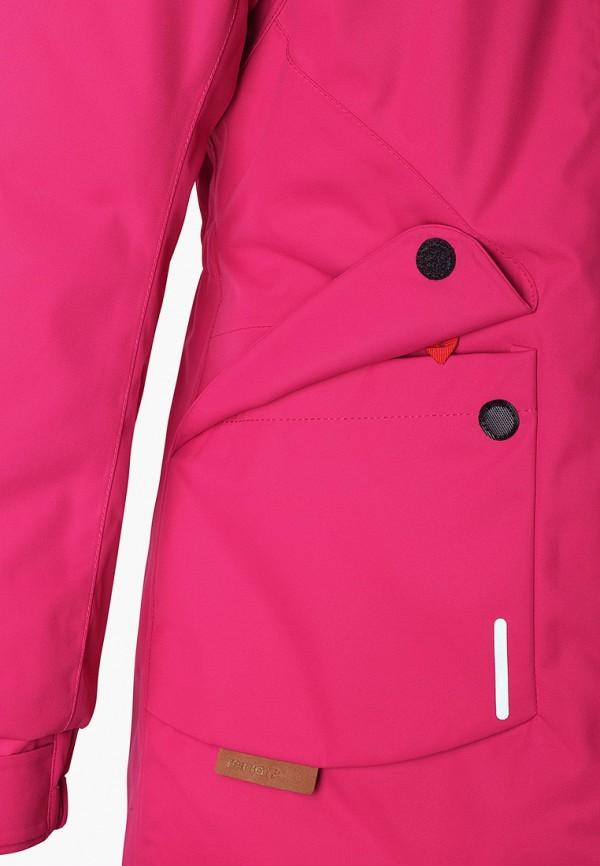 Фото 5 - Куртку утепленная Reima розового цвета