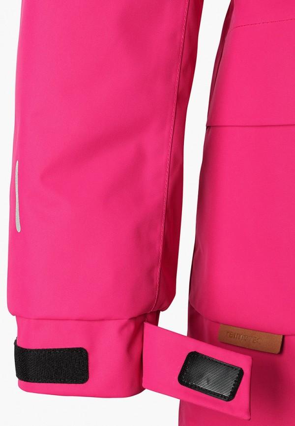 Фото 6 - Куртку утепленная Reima розового цвета