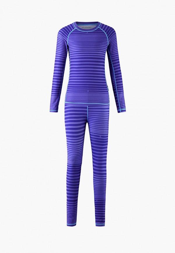 термобелье reima для девочки, фиолетовое