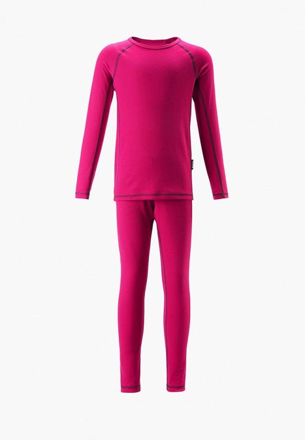 термобелье reima для девочки, розовое