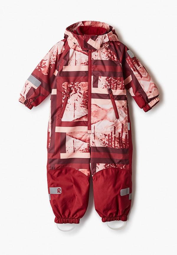 комбинезоны и костюмы reima для девочки, бордовые