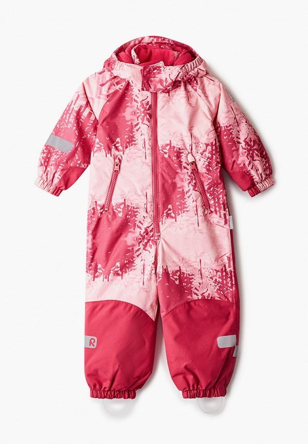 комбинезоны и костюмы reima для девочки, розовые