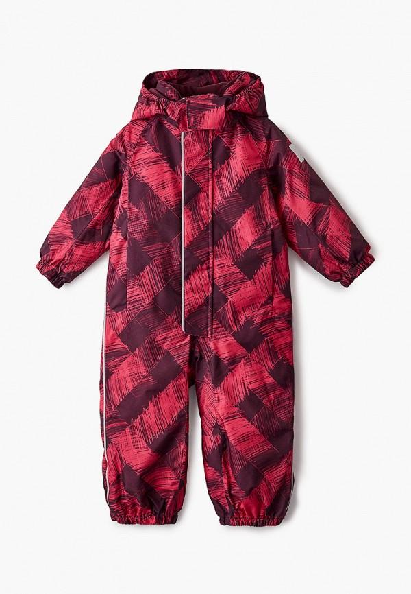 комбинезоны и костюмы reima для девочки, красные