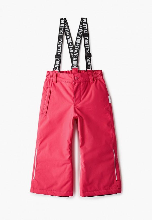 брюки reima для девочки, розовые