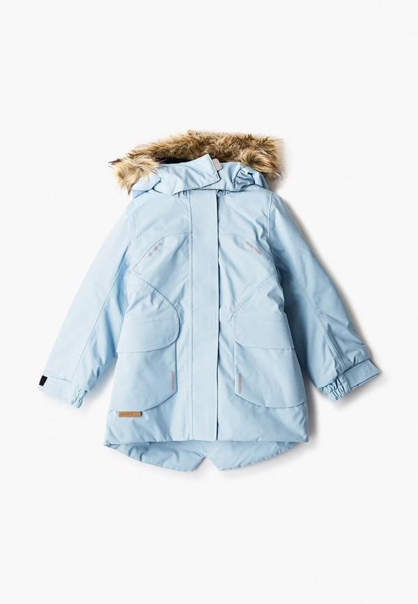 куртка reima для девочки, голубая