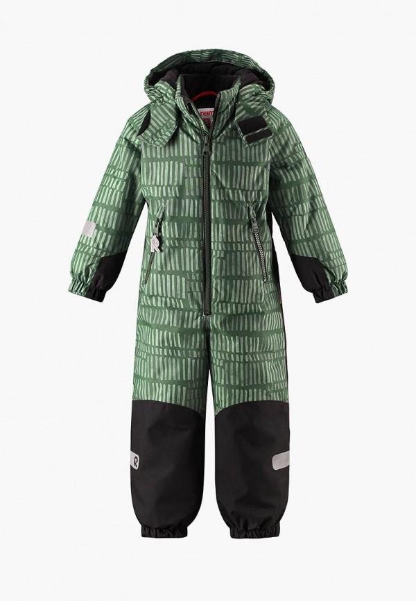 Купить Комбинезон утепленный Reima, Snowy, RE883EKCAEB8, зеленый, Осень-зима 2018/2019