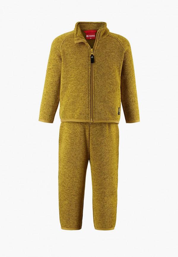 спортивный костюм reima малыши, желтый