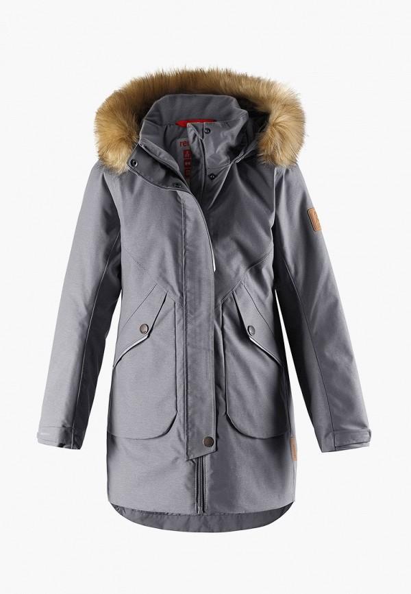 куртка reima малыши, серая