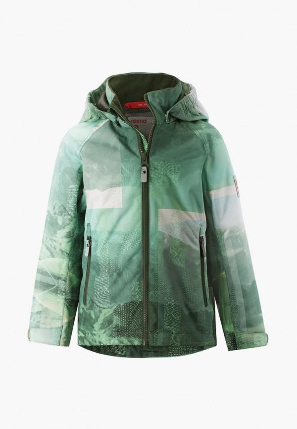 легкие куртка reima малыши, зеленая