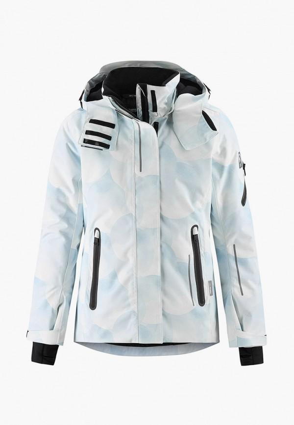 куртка reima малыши, белая