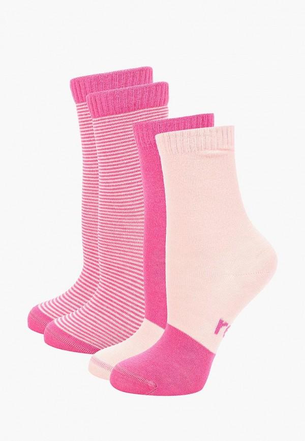 носки reima для девочки, розовые