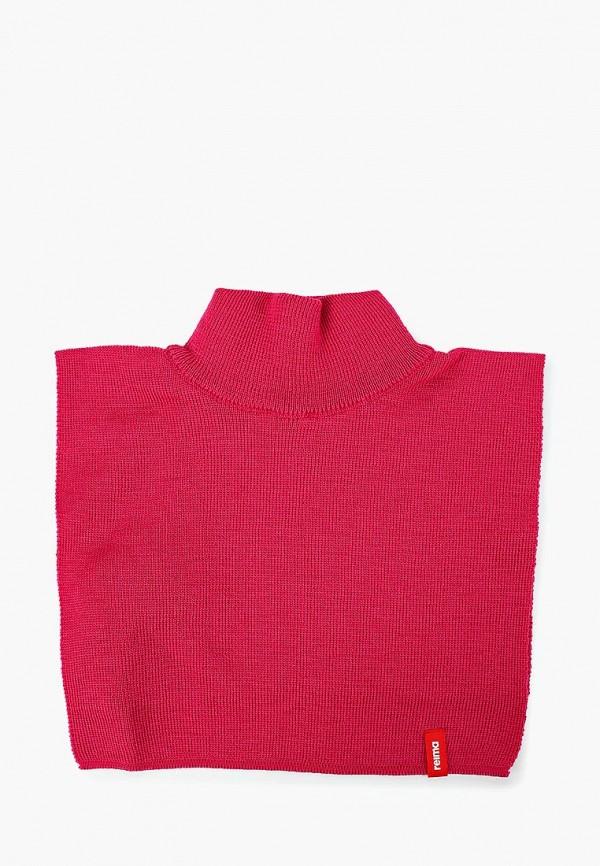 воротник reima для девочки, розовый