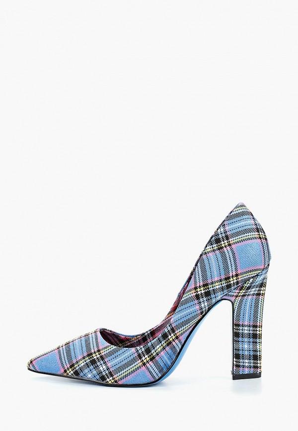 женские туфли river island, голубые