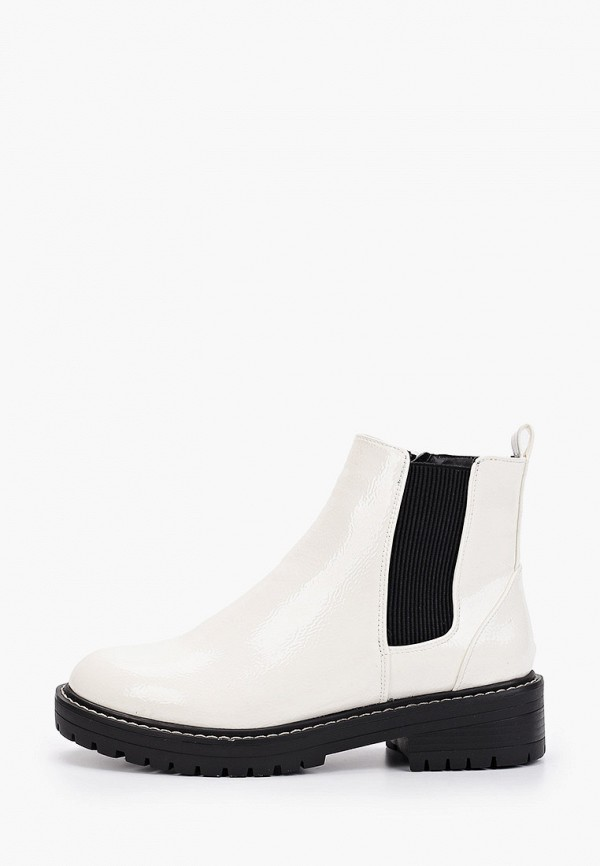 женские ботинки river island, белые