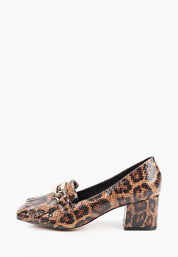 женские туфли river island, коричневые