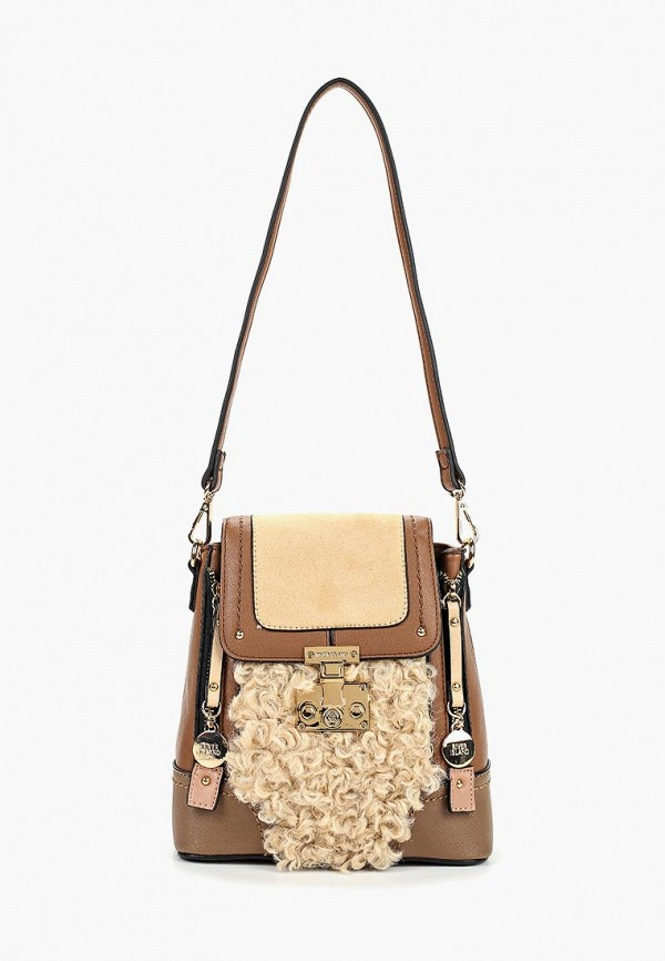 женский рюкзак river island, коричневый