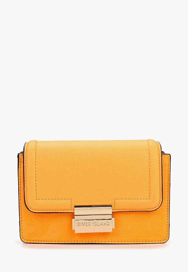 женская сумка river island, оранжевая