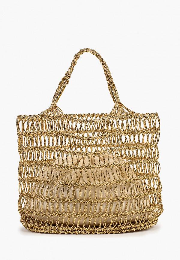 женская сумка river island, золотая