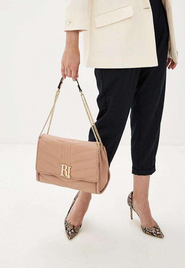 Фото 4 - Женские сумки и аксессуары River Island бежевого цвета