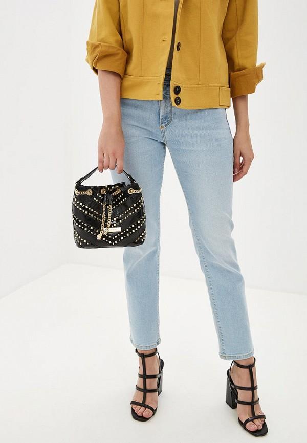 Фото 4 - Женскую сумку River Island черного цвета