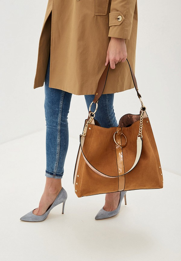 Фото 4 - женскую сумку River Island коричневого цвета