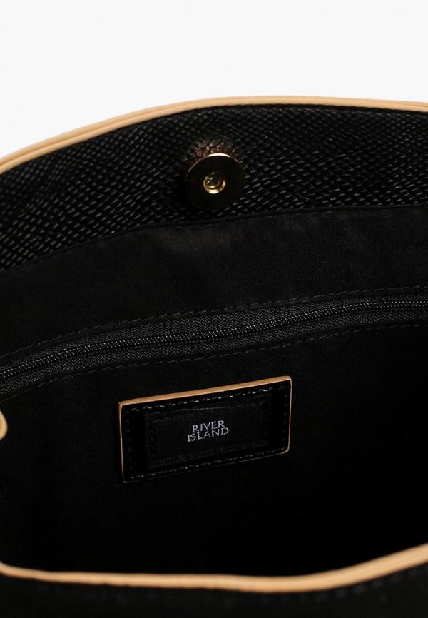 Фото 3 - женскую сумку River Island черного цвета