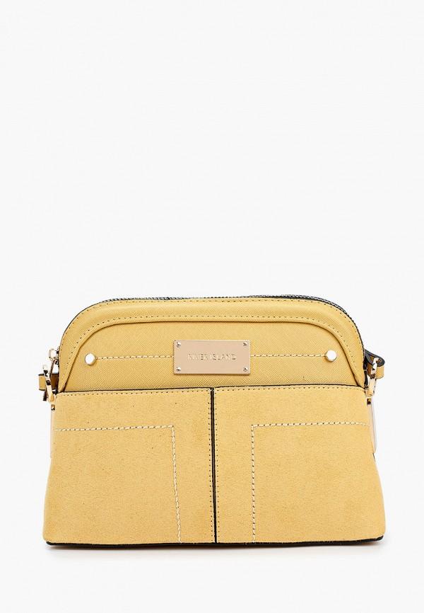 женская сумка river island, желтая