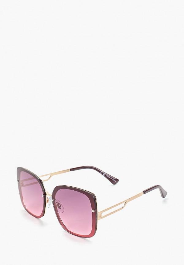 женские солнцезащитные очки river island, бордовые
