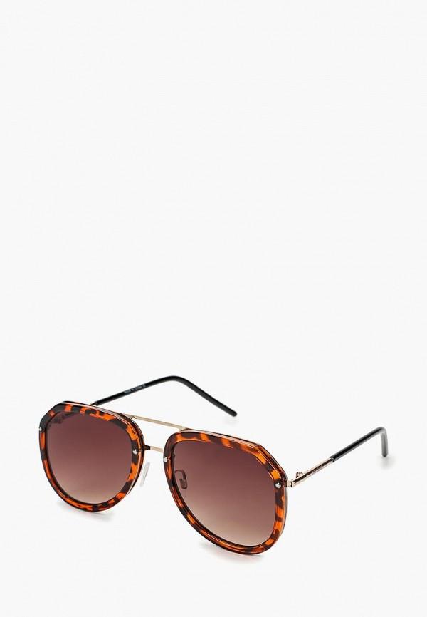 женские солнцезащитные очки river island, коричневые
