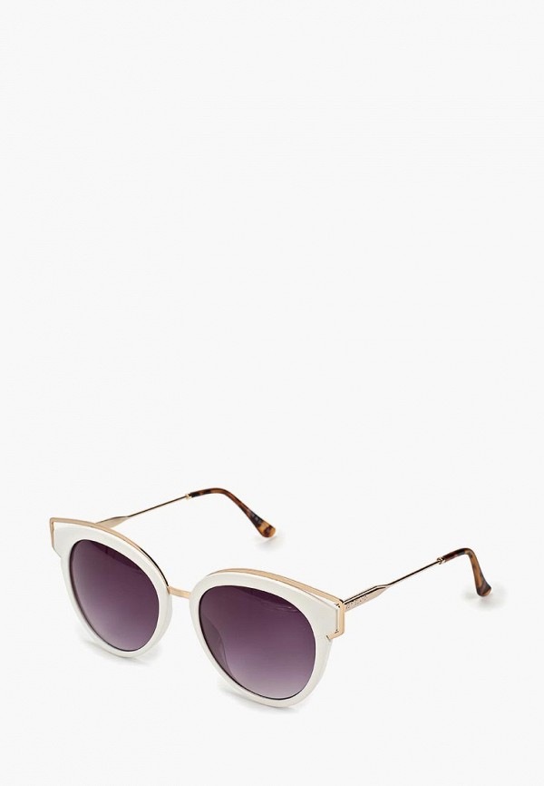 женские солнцезащитные очки river island, белые