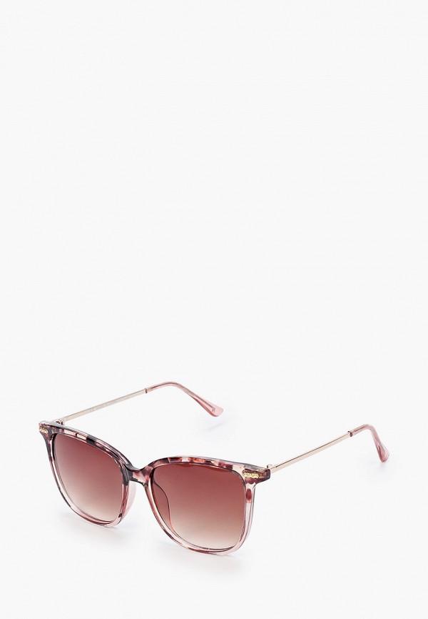 женские солнцезащитные очки river island, розовые