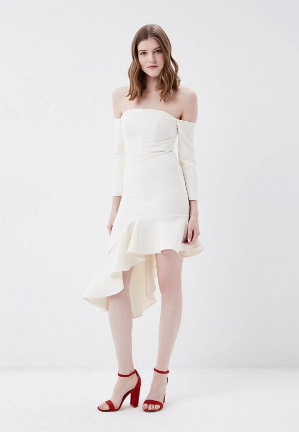 женское платье river island, белое