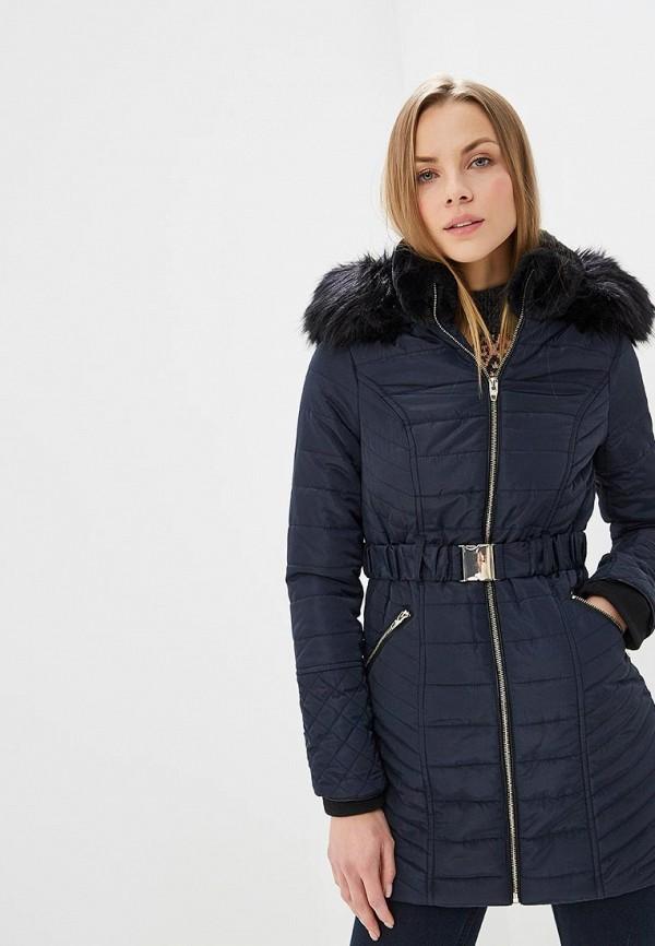 женская куртка river island, синяя