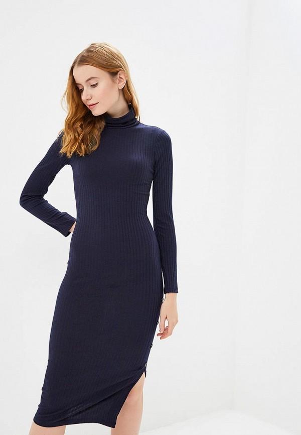 женское платье river island, синее