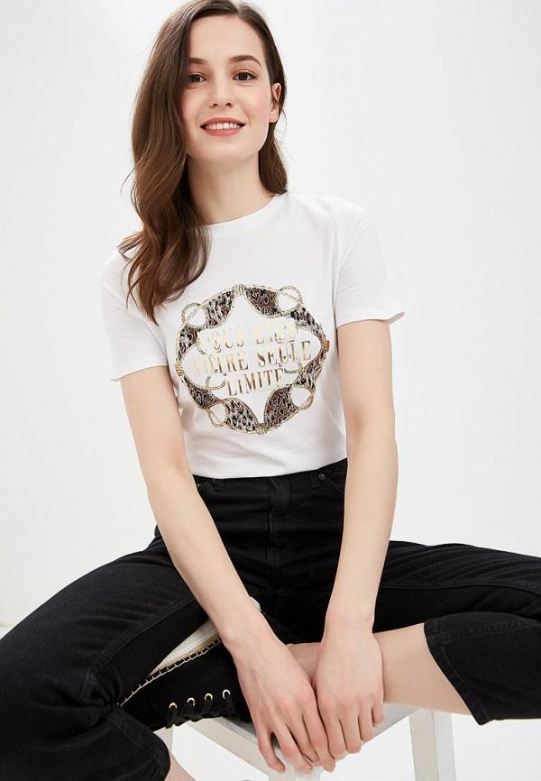 женская футболка river island, белая