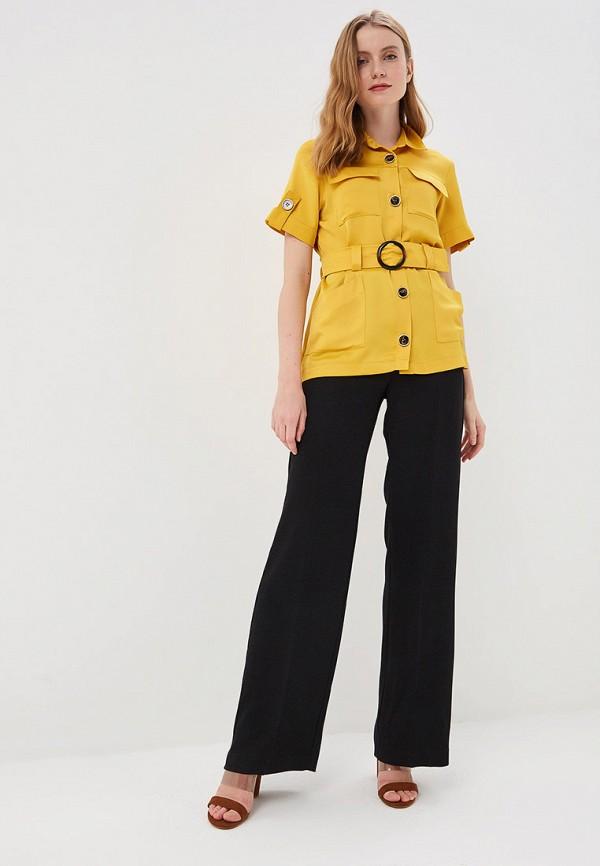 Фото 2 - женскую блузку River Island желтого цвета