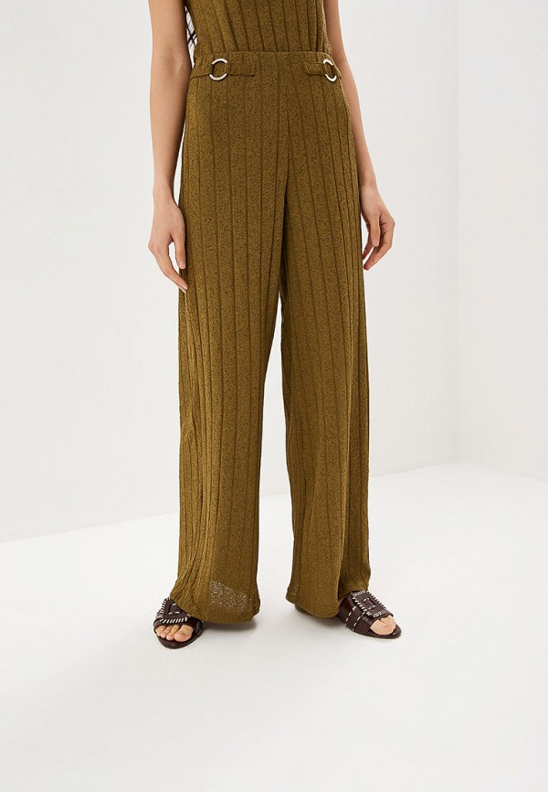 женские повседневные брюки river island, хаки