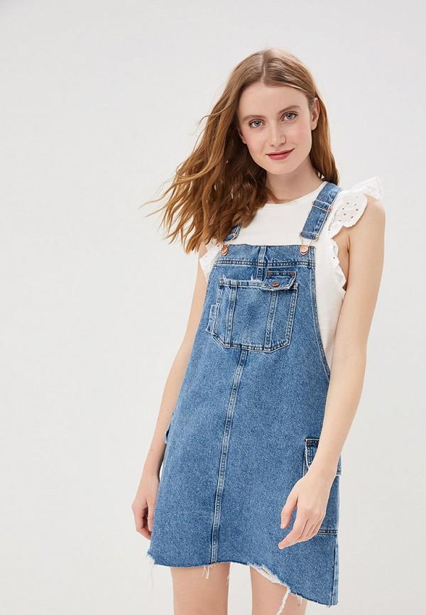 Фото - Платье джинсовое River Island синего цвета